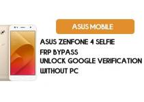 Asus Zenfone 4 Selfie FRP Bypass – Unlock Google Verification (Android 8.0 Pie)- Without PC