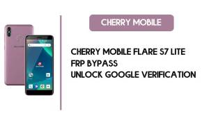 Cherry Mobile Flare S7 Lite FRP Bypass - Unlock Google – Android 8.1