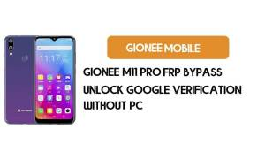 Gionee M11 Pro FRP Bypass Without PC - Unlock Google [Android 9.0]