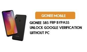 Gionee S8s FRP Bypass - Unlock Google Verification (Android 9)- Without PC