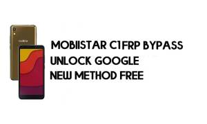Mobiistar C1 FRP Bypass Without PC - Unlock Google – Android 8.1 Free