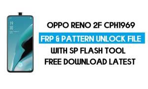 Oppo Reno 2F CPH1969 Unlock FRP & Pattern File (No Auth) SP Tool