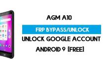 AGM A10 FRP Bypass – Unlock Google Account (Android 9 Pie) for Free (Without PC)