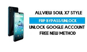 Allview Soul X7 Style FRP Bypass Android 9.0 Without PC - Unlock GMAIL