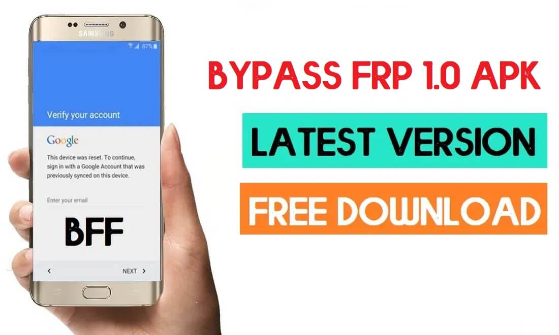 Download Bypass FRP 1.0 Apk Free - Latest Version