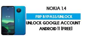 Nokia 1.4 FRP Bypass – Unlock Google Account [Android 11 Go] Free New Method (Without PC)