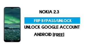Nokia 2.3 FRP Bypass Android 11 Without PC – Unlock Google for Free
