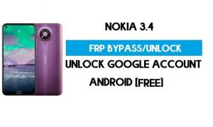 Nokia 3.4 FRP Bypass Android 11 Without PC – Unlock Google (for Free)