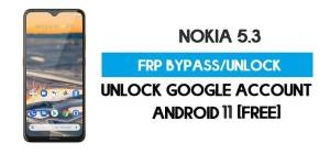 Unlock FRP Nokia 5.3 – Bypass Google Account [Android 10] Free New Method (Without PC)
