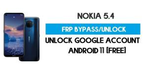 Nokia 5.4 FRP Bypass – Unlock Google Account [Android 10] Free New Method (Without PC)