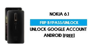 Unlock FRP Nokia 6.1 Android 10 Without PC – Bypass Google Gmail free