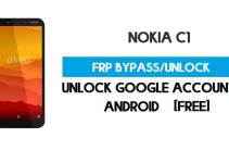 Nokia C1 FRP Bypass – Unlock Google GMAIL Lock [Android 9 Go] Free New Method (Without PC)