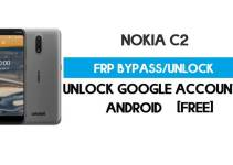 Nokia C2 FRP Bypass – Unlock Google GMAIL Lock [Android 9 Go] Free New Method (Without PC)