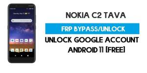 Nokia C2 Tava FRP Bypass – Unlock Google GMAIL Lock [Android 10] Free New Method (Without PC)