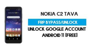 Nokia C2 Tava FRP Bypass Android 10 Without PC – Unlock Google Gmail