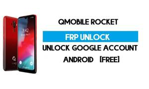 QMobile Rocket FRP Bypass Without PC – Unlock Google Android 9 free