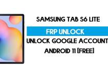Samsung Tab S6 Lite FRP Bypass Android 11 R (Unlock Google Verification) Free