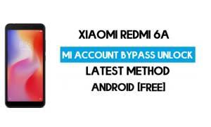 Xiaomi Redmi 6A Mi Account Remove With SP Flash Tool Free