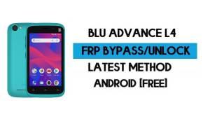 BLU Advance L4 FRP Bypass - Unlock Google Gmail Lock Android 8.1
