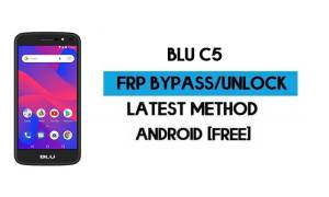 BLU C5 FRP Bypass Without PC - Unlock Google Gmail Android 8.1 Go