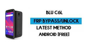 BLU C6L FRP Bypass Without PC - Unlock Google Gmail Lock Android 8.1