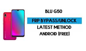 Unlock FRP BLU G50 Without PC - Bypass Google Gmail Android 10