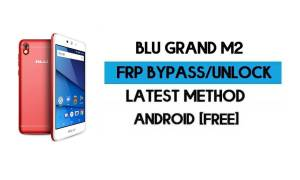 BLU Grand M2 FRP Bypass Without PC - Unlock Google Gmail Android 8