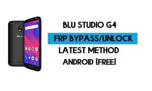 BLU Studio G4 FRP Bypass Without PC - Unlock Google Gmail Android 8