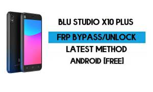 BLU Studio X10 Plus FRP Bypass Without PC - Unlock Gmail Android 10