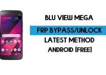 BLU View Mega FRP Bypass – Unlock Google GMAIL Verification (Android 9) – Without PC