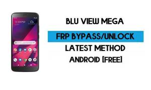 BLU View Mega FRP Bypass Without PC - Unlock Google Gmail Android 9