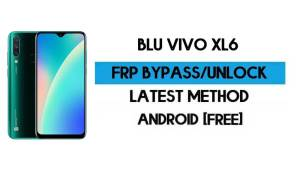 BLU Vivo XL6 FRP Bypass Without PC - Unlock Google Gmail Android 10