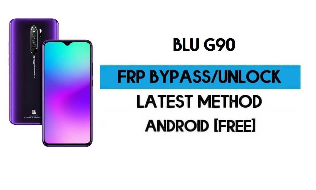 Unlock FRP BLU G90 - Bypass Google Gmail Lock Free Android 10