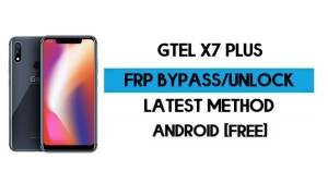 GTel X7 Plus FRP Bypass Without PC – Unlock Google Android 8.1 Oreo