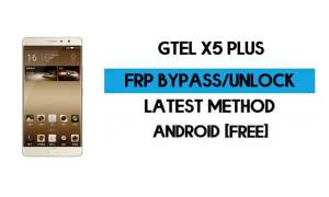 GTel X5 Plus FRP Bypass Without PC – Unlock Google Gmail Android 7.1