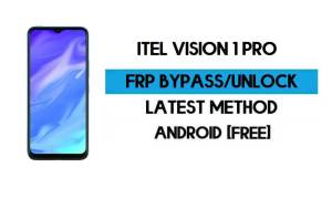 Itel Vision 1 Pro FRP Bypass Without PC - Unlock Gmail lock Android 10