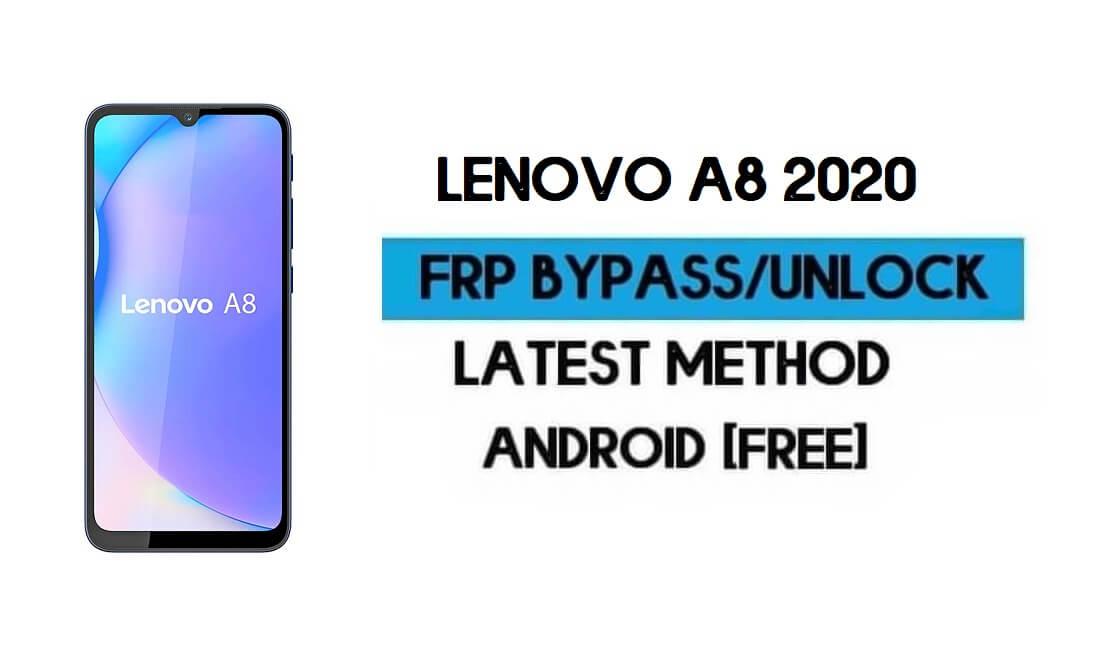 Lenovo A8 2020 FRP Lock Bypass – Unlock Google GMAIL [Android 10]