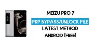 Meizu Pro 7 FRP File (Unlock Google GMAIL Lock) Free Download