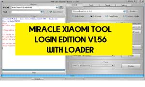 Miracle Xiaomi Tool Login Edition V1.56 With Loader Free Download