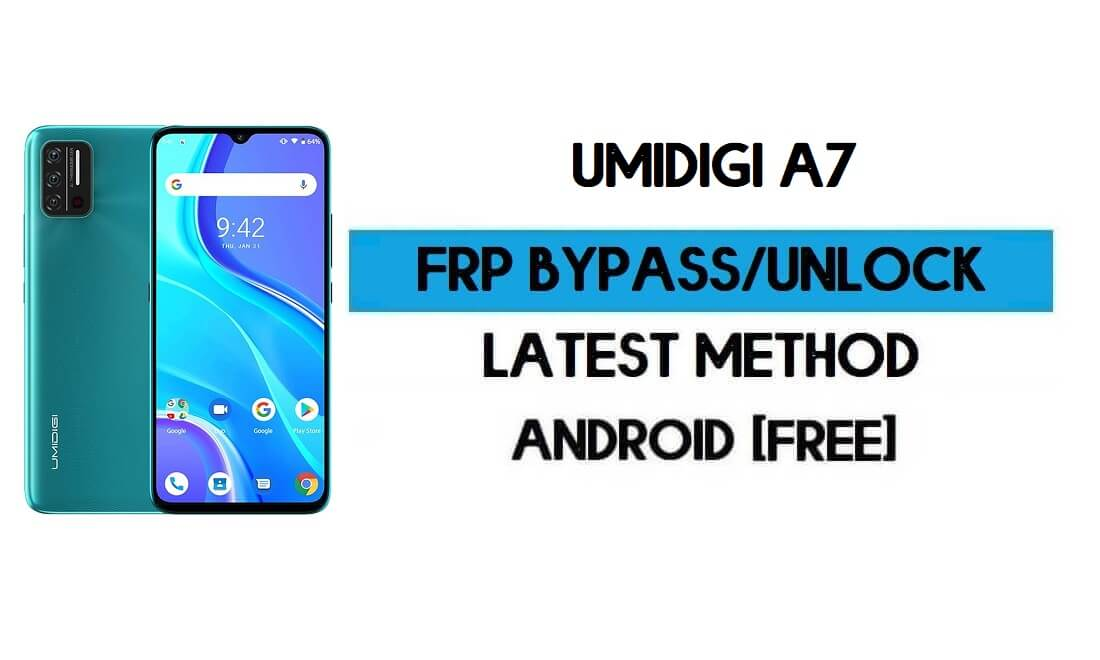 UMiDIGI A7 FRP Bypass Without PC - Unlock Google Gmail Android 10