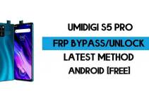 UMiDIGI S5 Pro FRP Bypass – Unlock Google GMAIL Verification (Android 10) – Without PC