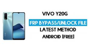 Vivo Y20G V2037 FRP Bypass File ( Remove Without Auth) SP Tool Free