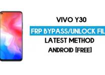 Vivo Y30 (1938) FRP Bypass File ( Remove Without Auth) SP Tool Free