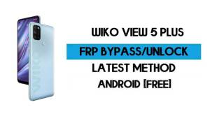Wiko View 5 Plus FRP Bypass Without PC - Unlock Google Android 10
