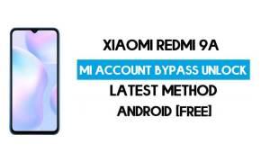 Xiaomi Redmi 9A Mi Account Remove With SP Flash Tool Free