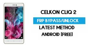 Celkon CliQ 2 FRP Bypass – Unlock Gmail Lock Android 7.0 Without PC