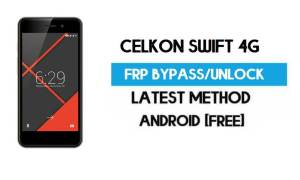 Celkon Swift 4G FRP Bypass – Unlock Gmail Lock Android 7.0 Without PC