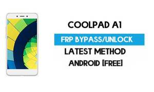 Coolpad A1 FRP Bypass – Unlock Gmail Lock Android 7.0 Without PC