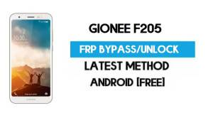 Gionee F205 FRP Bypass – Unlock Gmail Lock Android 7.1 (Without PC)