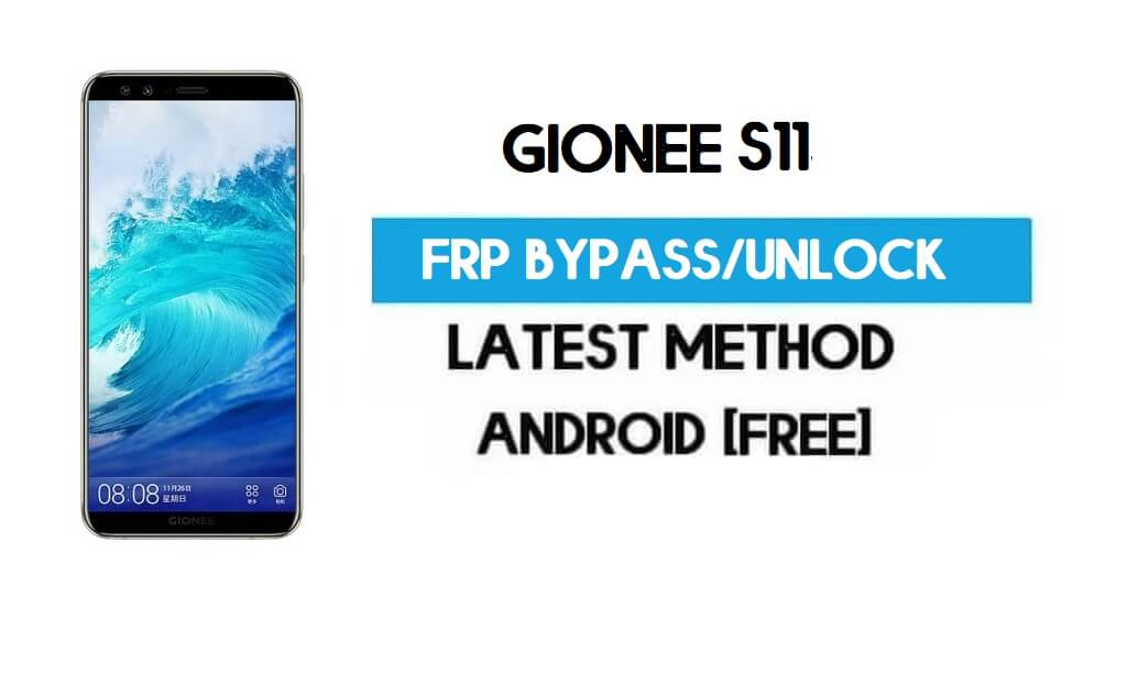 Gionee S11 FRP Bypass – Unlock Gmail Lock Android 7.1 (Without PC)